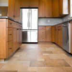 Luxury Vinyl Tile in kitchen | Chantilly, VA